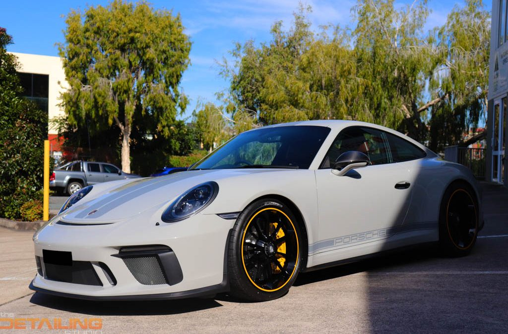 Porsche 991.1 GT3 Touring – XPEL ULTIMATE+ Paint Protection Full Coverage