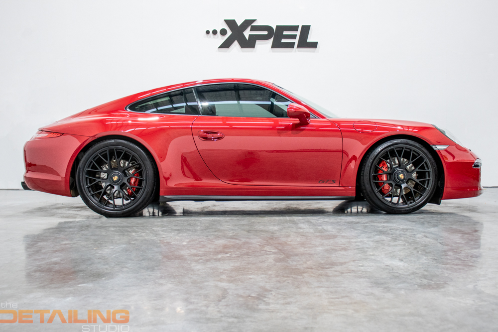 Porsche 991.1 GTS – XPEL ULTIMATE + Paint Protection in Brisbane